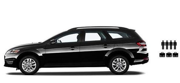 Estate Car cab hire airport transfer Birmingham
